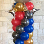 "balloon decorator - balloon column - ""Star Trek"" theme"